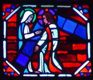 jesus speaks to a woman