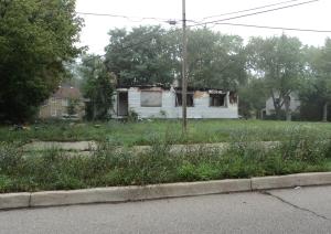 abandoned house flint